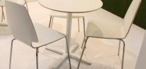 Tavolo Bianco 70+sedie Bianco
