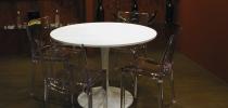Tavolo rotondo Bianco Docksta