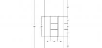 Progetto di Nicchia Verticale 100x35 Profondità 30